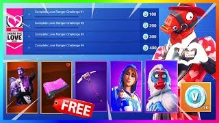 ARTICLES GRATUIT, SKINS, V-DOLCE FOR VALENTINE'S EVENT (fr) FORTNITE (FORTNITE)