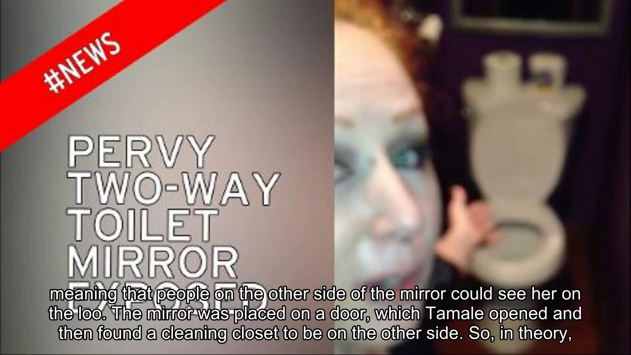 Woman Horrified To Find A Two Way Mirror In Bar Toilet Meaning Anyone Could Watch Her