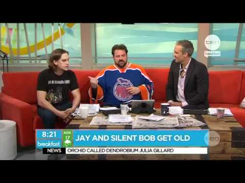 Jay and Silent Bob get old !