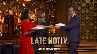 LATE MOTIV - Silvia Abril y Àngel Llàcer compañeros de clase y más   #LateMotiv51