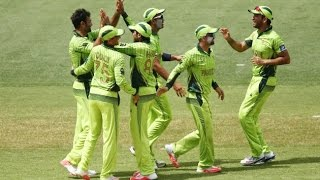 Pakistan Vs UAE pakistan bating Highlight