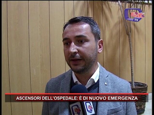 ASCENSORI DELL'OSPEDALE, È DI NUOVO EMERGENZA