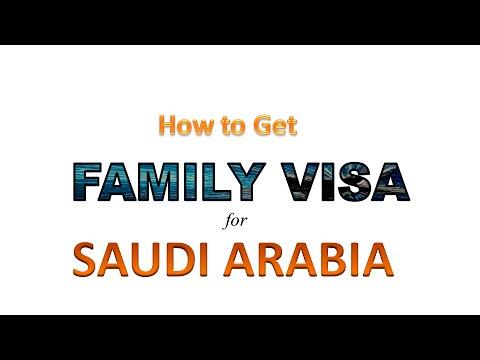 How to Get Family Visa For Saudi Arabia