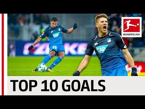 Top 10 Hoffenheim Goals 2017/18 - Gnabry, Kramaric & More