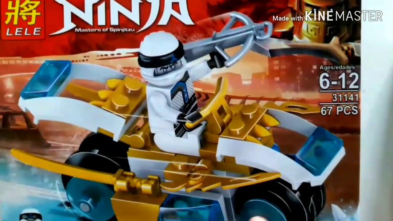 lego ninjago lele 31141 xe đua của zane