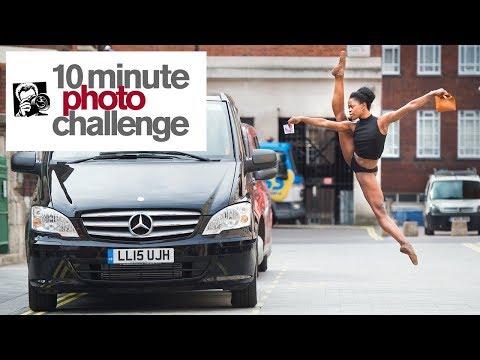 10 MINUTE PHOTO CHALLENGE: INJURED SUPERSTAR MICHAELA DEPRINCE IN AMSTERDAM