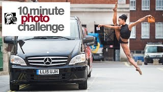 10 MINUTE PHOTO CHALLENGE: INJURED SUPERSTAR MICHAELA DEPRINCE IN AMSTERDAM