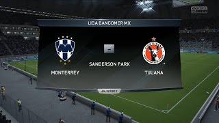 Monterrey vs Tijuana  | Resumen-Simulación | Fifa 16