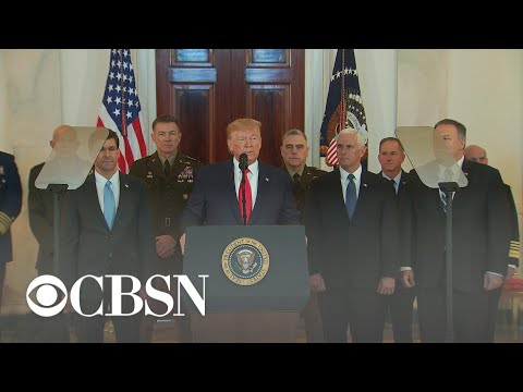 Special Report: Trump addresses Iran attack on U.S. bases in Iraq
