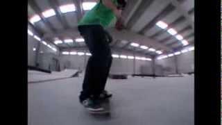 Diy Spot Tribute - Fran Martinez Skateboarding Grind Box