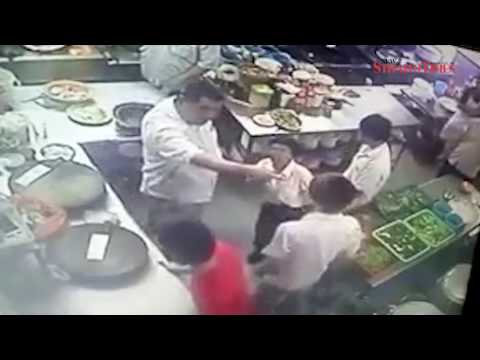 Video of staff being viciously beaten by Kajang employer goes viral, police on case