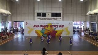 IDSU Asia Dance Sport Cup 2018 - 10 Chengdu Yundong Sports Club A - Aerobics Junior Small