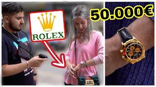 DAS 50.000€ OUTFIT VON MUTTER UND TOCHTER 🔥😱💸| WIE VIEL IST DEIN OUTFIT WERT| STREET UMFRAGE | MAHAN