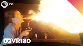IN YOUR FACE EXPLOSIVE CHEMISTRY!! (VR180)