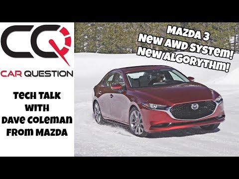 Mazda 3 Awd: How the new i-ACTIV AWD system work! | Tech Talk