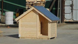 Домик для собаки с крыльцом №3. Цена в Санкт Петербурге 8000 рублей