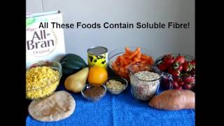 Fiber Video   Insoluble and Soluble Fibre