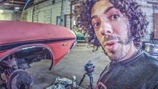 Rebuilding the brakes on my 1970 Dodge Challenger Vlog32