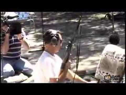 WWII antique weapon test