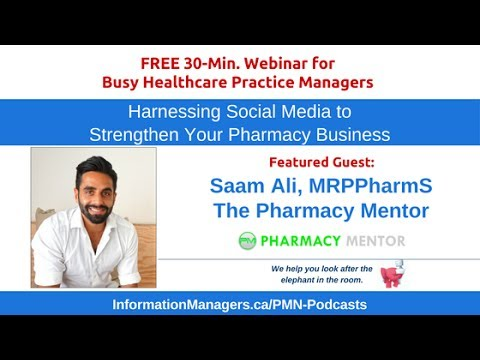 Harnessing Social Media to Strengthen Your Pharmacy Business