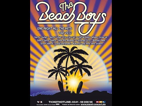 the beach boys 07 06 2017 wild honey world tour mehr theater am gro markt hamburg. Black Bedroom Furniture Sets. Home Design Ideas