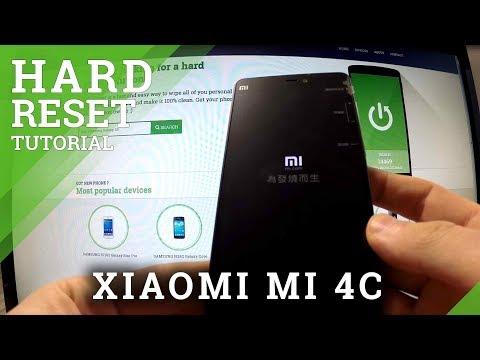 Hard Reset XIAOMI Mi 4c - factory reset by hardware keys