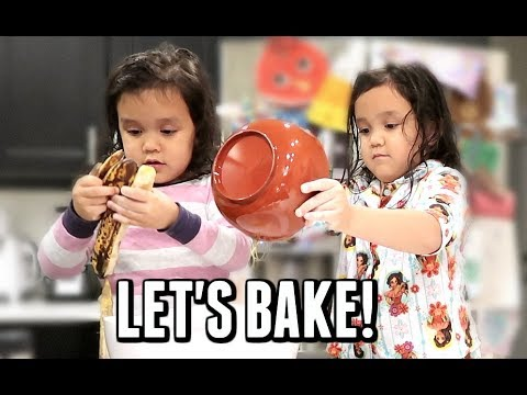 Kids Bake Banana Bread! -  ItsJudysLife Vlogs