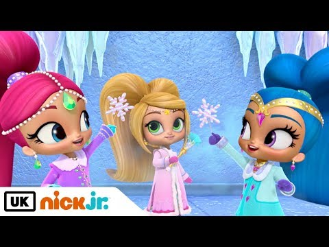Shimmer and Shine   Snow Time To Spare   Nick Jr. UK
