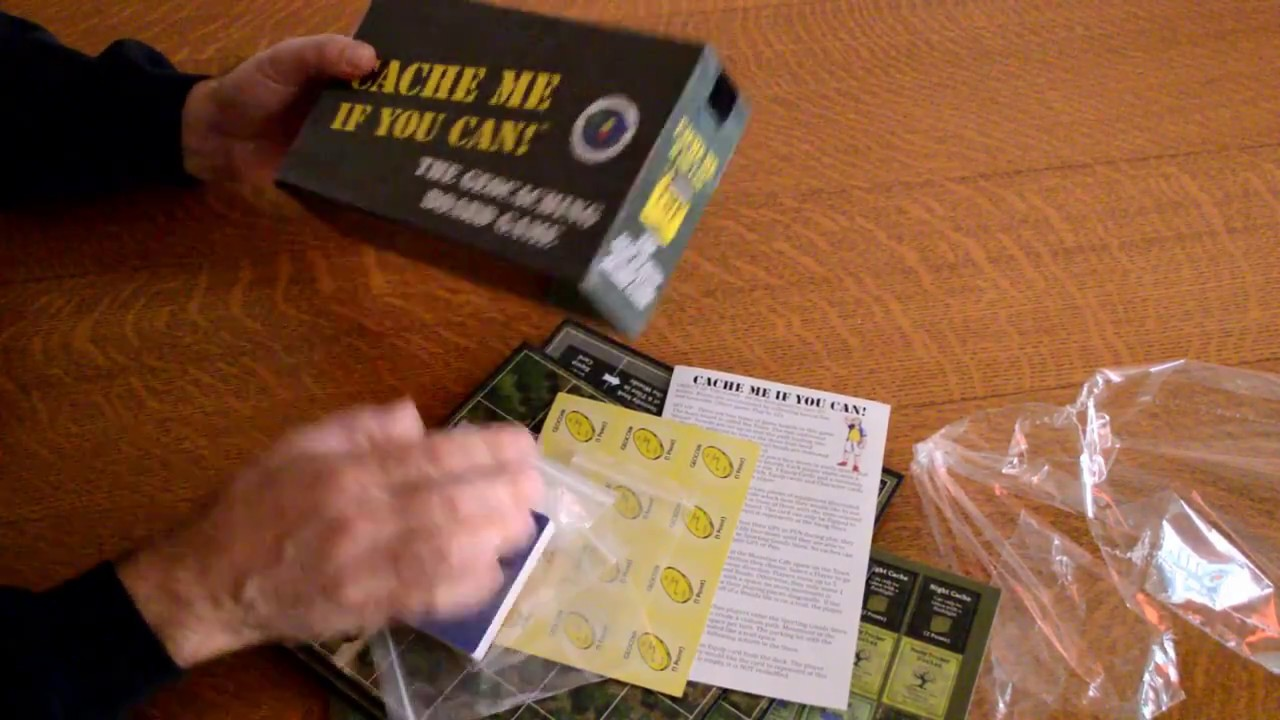 Cache Me If You Can! - DPH Games