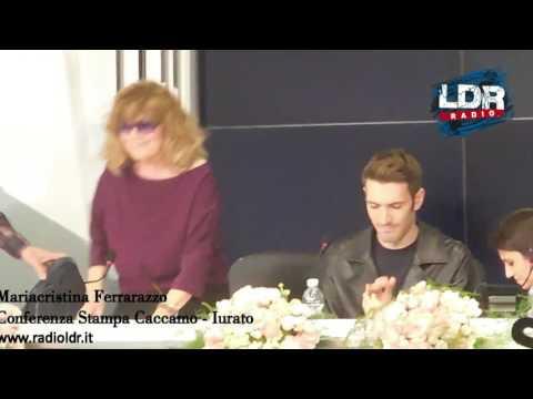 SANREMO, Conferenza Stampa CACCAMO IURATO, con CATERINA CASELLI