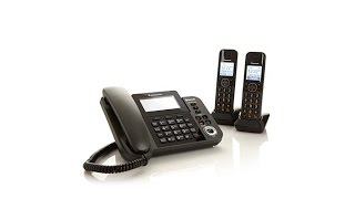 Panasonic Corded and Cordless Phone System w/Link2Cell