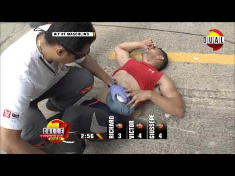 Calle 7 Panamá - Segunda competencia hit 1 y 2 hombres Feb 8