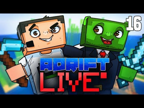 Minecraft: ADRIFT - THE RETURN OF THE CRAFT! *LIVESTREAM*