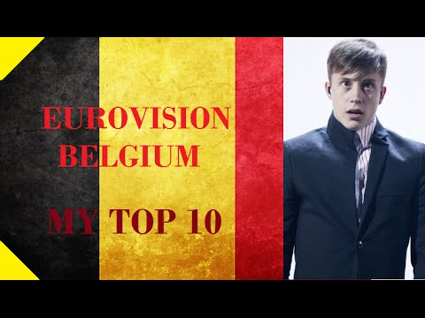 Belgium in Eurovision - My Top 10 [2000 - 2016]