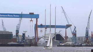 Sailing Yacht A / Largest Sailing Yacht of the World - Kiel , Germany -