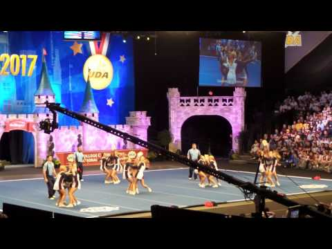 University of Mississippi All Girl squad  performs in finals at 2017  UCA college nationals