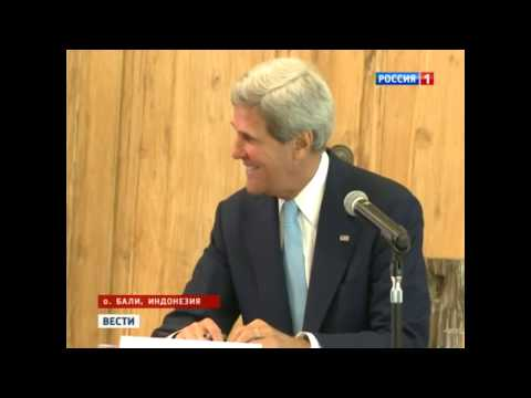 John Kerry couldn't explain against whom MDS stationed in Europe is directed[english subtitles]