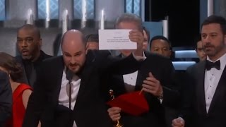 Oscars Mistake: Moonlight Wins Best Picture after La La Land Mistakenly Announced   ABC News