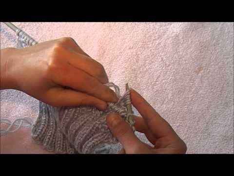 видео: Женский жилет спицами ( полочка , основной рисунок, часть 2 )