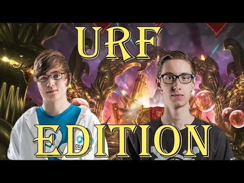 URF EDIT - Bjergsen and Sneaky (ft. Meteos) - Funny moments
