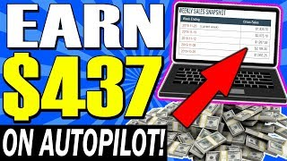 Earn $400+ 🔥💰 IN 20 MIN 💰🔥 On Autopilot *NO WORK REQUIRED* (Make Money Online!)
