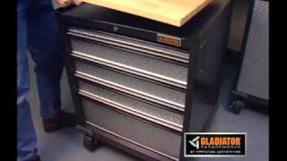 Gladiator Workbench and Base Cabinets