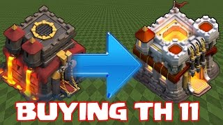 Clash Of Clans - BUYING TH11 NEW UPDATE!!! Ep#1 (60fps W/ Raids)