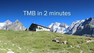 Tour du Mont Blanc | 10 Days in 2 Minutes