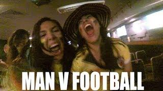Colombian Girls Go Wild   Man v Football