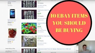 10 Ebay items you should be buying to resell for BIG PROFITS