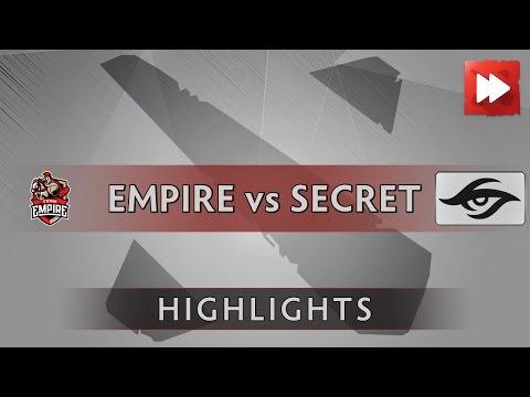 Team Empire vs Team Secret - FACEIT League - Dota Highlights
