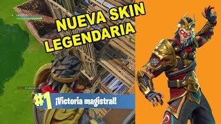 WUKONG/NEW SKIN LEGENDARY IN fortnite battle royale,-GAMEPLAY ENGLISH-