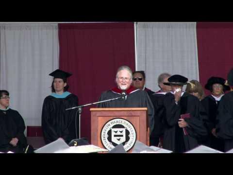 Franklin Pierce University Commencement, 2017