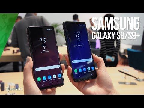 Samsung Galaxy S9 y S9+: LOS HEMOS PROBADO. PRIMERAS IMPRESIONES